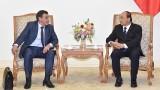 越南政府总理阮春福会见俄罗斯联邦总统反腐事务局局长