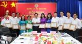 Hội Nông dân tỉnh: Ký giao ước thi đua thực hiện thắng lợi nhiệm vụ năm 2020