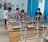 Khử khuẩn bề mặt trong trường học