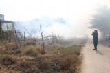 Cẩn trọng khi đốt cỏ, rác vào mùa khô