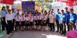 The provincial Youth Union held a ceremony to commemorate the hero Ho Van Men