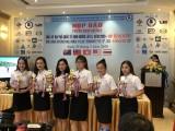 11 đội đua trong và ngoài nước tham dự Giải  xe đạp nữ quốc tế Bình Dương Cúp Biwase lần thứ  X