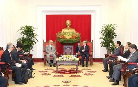 陈国旺同志会见日越友好议员联盟特别顾问