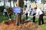Công an TX.Bến Cát: Tổ chức lễ phát động Tết trồng cây