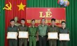 Công an tỉnh: Khen thưởng đột xuất 4 cá nhân Đội Dân phòng phường Phú Thọ
