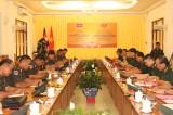 Đoàn Bộ Tư lệnh Lục quân - Quân đội Hoàng gia Campuchia thăm và làm việc tại Trường Sĩ quan Công binh