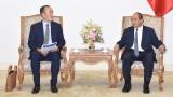 越南政府总理阮春福会见世界卫生组织驻越南首席代表