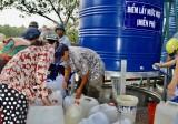 Công ty Cổ phần nước - Môi trường Bình Dương: Hỗ trợ người dân Bến Tre hàng ngàn m3 nước sạch phục vụ ăn uống
