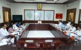Đoàn công tác Tỉnh ủy làm việc với Thường trực Thành ủy Thủ Dầu Một về công tác chuẩn bị tổ chức đại hội