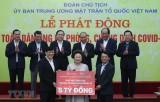 Dịch COVID-19: Hành động đẹp từ những trái tim Việt Nam