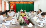 Bí thư Tỉnh ủy kiểm tra công tác chuẩn bị đại hội Đảng tại Phú Giáo
