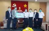 越南P&G公司:给工人捐赠1万块抗菌肥皂