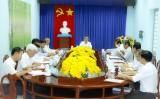 Bí thư Tỉnh ủy kiểm tra công tác chuẩn bị đại hội Đảng tại Huyện ủy Bắc Tân Uyên