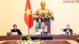 越南国会常务委员会第43次会议开幕 听取有关疫情防控工作报告越南国会常务委员会第43次会议开幕 听取有关疫情防控工作报告