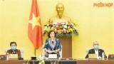 越南国会常委会第43次会议落幕