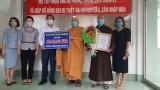 Ban trị sự Giáo hội Phật giáo Việt Nam tỉnh đóng góp 100 triệu đồng ủng hộ phòng chống dịch Covid-19