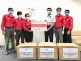 Hội Chữ thập đỏ tỉnh: Trao tặng hơn 10.000 khẩu trang vải kháng khuẩn