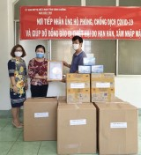Ủy ban MTTQ Việt Nam tỉnh: Tiếp nhận thêm vật tư y tế từ 1 gia đình ủng hộ phòng, chống Covid-19