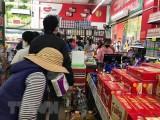 Hệ thống siêu thị, chợ đủ lượng hàng đáp ứng nhu cầu người tiêu dùng