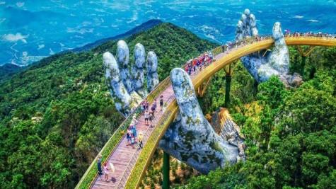 岘港金桥——岘港市旅游业的亮点