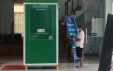 TP.Thủ Dầu Một: Trang bị buồng khử trùng toàn thân tại Trung tâm Phục vụ hành chính công