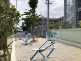 Xây dựng hoa viên cây xanh phục vụ người dân