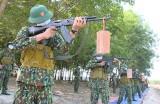 Trung đoàn Bộ binh 6: Vừa huấn luyện chiến sĩ mới vừa bảo đảm phòng, chống dịch bệnh
