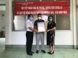 Công ty TNHH MTV Quang Phúc ủng hộ 500 triệu đồng chung tay phòng, chống dịch