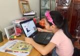 Dạy học qua internet cho học sinh tiểu học: Còn nhiều lúng túng