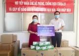 Doanh nghiệp tiếp tục ủng hộ cho công tác phòng, chống dịch bệnh Covid-19