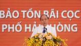 越南政府总理阮春福出席海防市高跪木桩基地保护区项目动工仪式