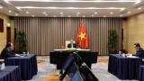 越南政府总理阮春福出席不结盟运动视频峰会