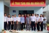 Phường Định Hòa, TP.Thủ Dầu Một: Tổ chức trao nhà Đại đoàn kết cho hộ nghèo
