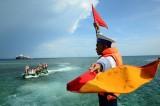 遵守国际法,坚决、坚持捍卫东海主权