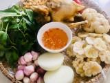 山竹鸡肉沙拉:平阳的特色美食