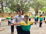 Tình yêu nghề của một giáo viên thể dục