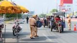 Ra quân tổng kiểm tra phương tiện tham gia giao thông trên Quốc lộ 13