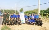 Huyện Đoàn Bắc Tân Uyên ra quân tết trồng cây đời đời nhớ ơn Bác