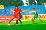 Becamex Bình Dương tập luyện chờ ngày trở lại V-League 2020