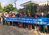 """MTTQ Phường Bình Nhâm (Tp.Thuận An): Ra quân """"Chung tay bảo vệ môi trường xanh - sạch - đẹp"""""""