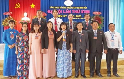 Đảng bộ Công Ty TNHH MTV Cao su Dầu Tiếng: Sẵn sàng cho đại hội nhiệm kỳ 2020-2025