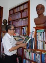 Lan tỏa văn hóa đọc và lòng yêu nước nơi vùng quê