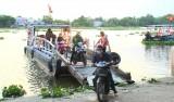 Giao thông đường thủy mùa mưa:  Vừa an toàn, vừa bảo đảm phòng, chống dịch bệnh Covid-19