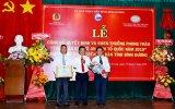 Ngân hàng nhà nước Việt Nam tỉnh nhận bằng khen về phong trào Bảo vệ an ninh Tổ quốc năm 2019