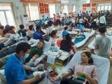 TP.Dĩ An: Tiếp nhận gần 360 đơn vị máu trong Ngày hội hiến máu tình nguyện
