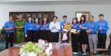Thường trực Tỉnh ủy chúc mừng đoàn đại biểu tham dự Đại hội Thanh niên tiên tiến làm theo lời Bác toàn quốc lần thứ VI