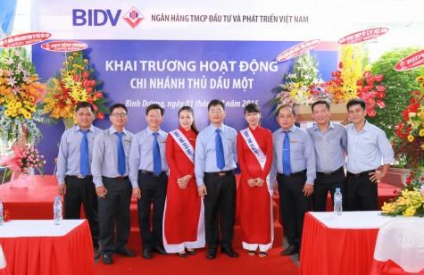 BIDV Thủ Dầu Một: Tự hào 05 năm vượt sóng vươn xa