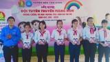 Liên hoan Đội tuyên truyền măng non phòng chống tai nạn thương tích, xâm hại trẻ em