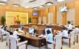 Ủy ban Thường vụ Quốc hội tiếp tục chương trình phiên họp thứ 45