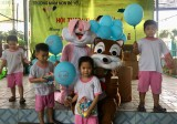 Trường Mầm non Bé Yêu: Tổ chức hội thao bé vui khỏe nhân Ngày Quốc tế Thiếu nhi (1-6)